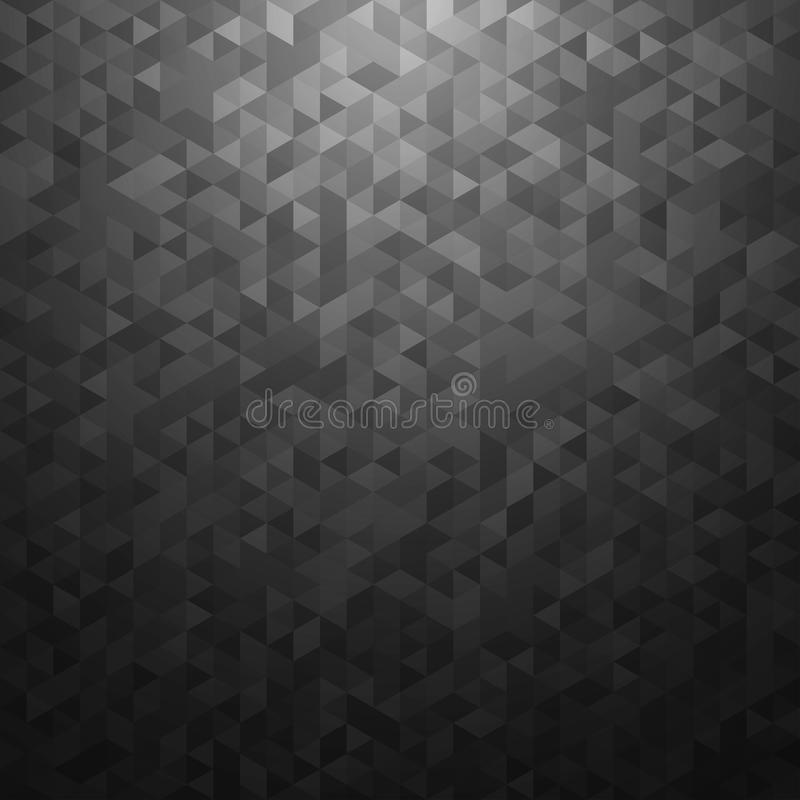 Svart vektorabstrakt begreppbakgrund stock illustrationer