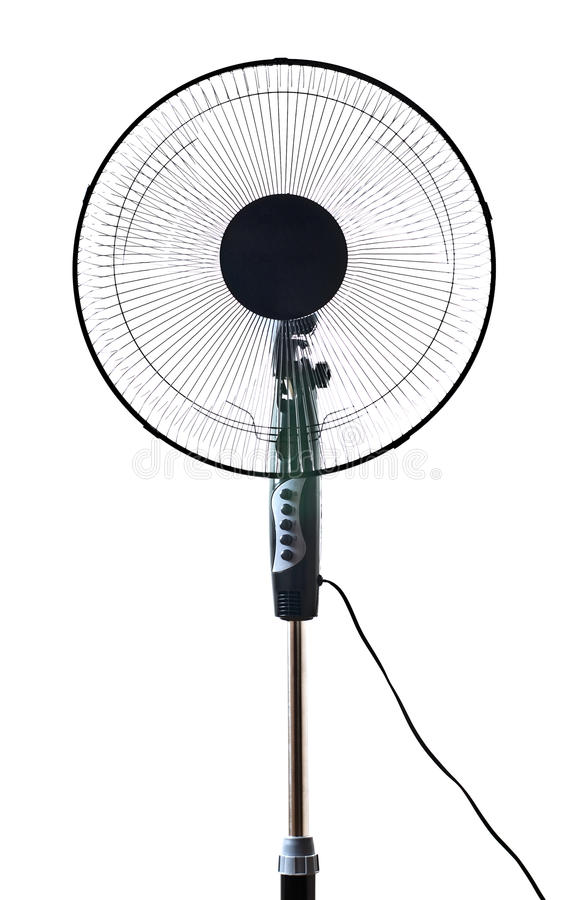 svart ventilatorkontor arkivfoton