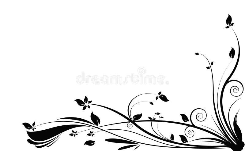 svart vine royaltyfri illustrationer
