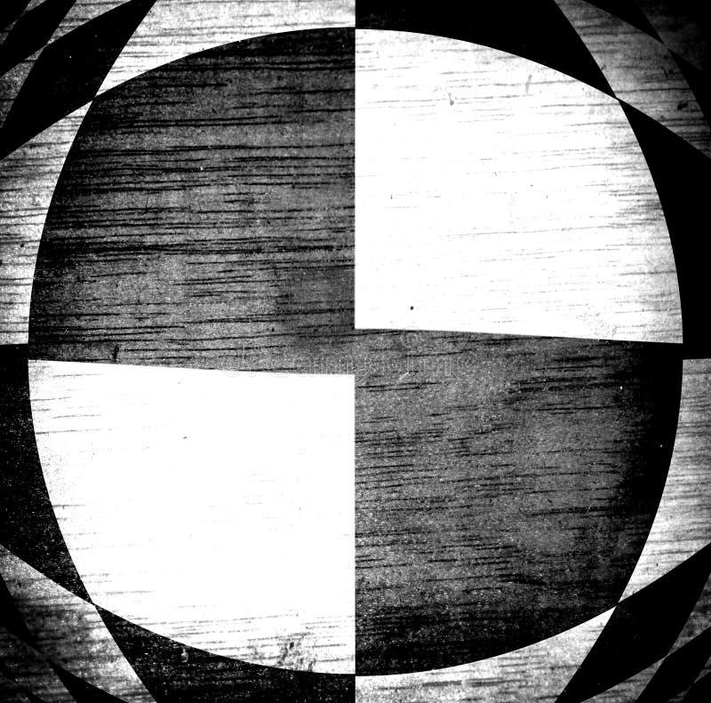 svart white stock illustrationer