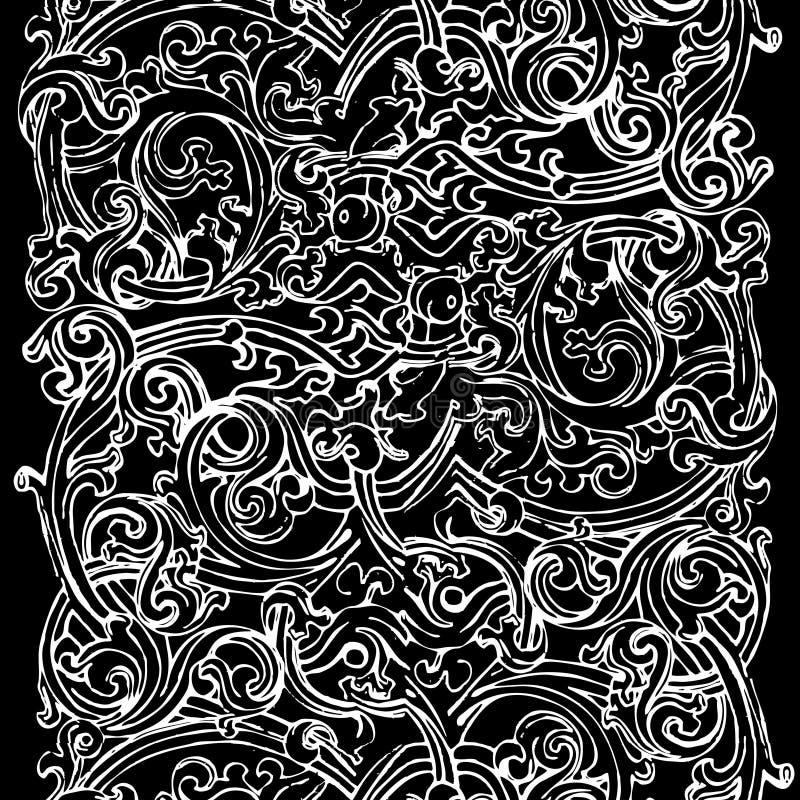 svart white för bakgrund royaltyfri illustrationer