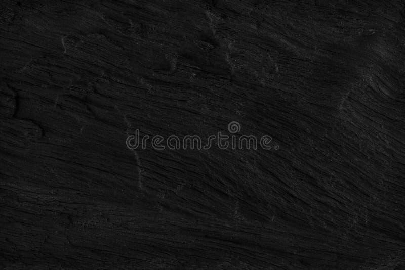 Svart wood bakgrundstextur Mellanrum för design royaltyfria bilder
