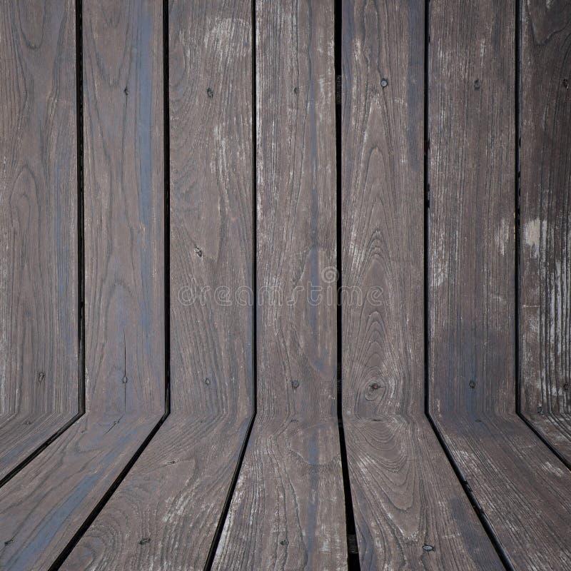 Svart wood väggbakgrund arkivbilder