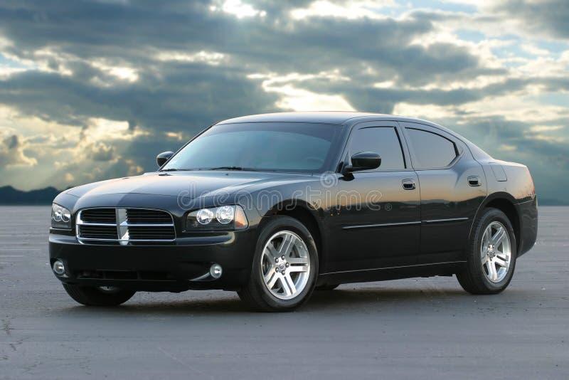 svarta bilsportar royaltyfria foton