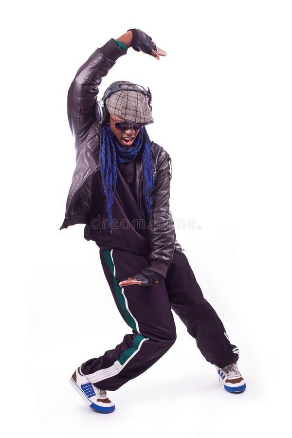 svarta dansmän flyttar barn arkivfoton