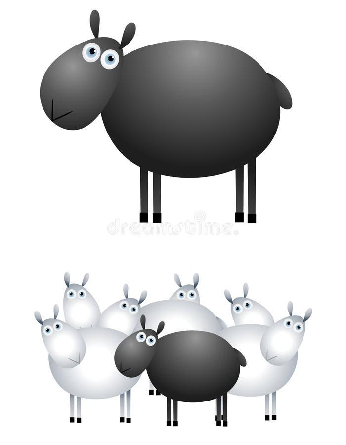svarta får