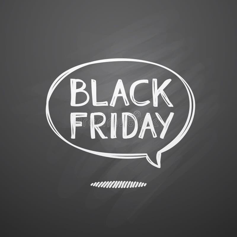 svarta friday stock illustrationer