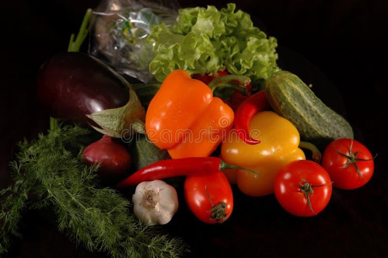 svarta grönsaker fotografering för bildbyråer