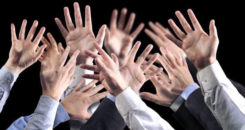 Download Svarta händer för bground arkivfoto. Bild av muffar, strid - 42178