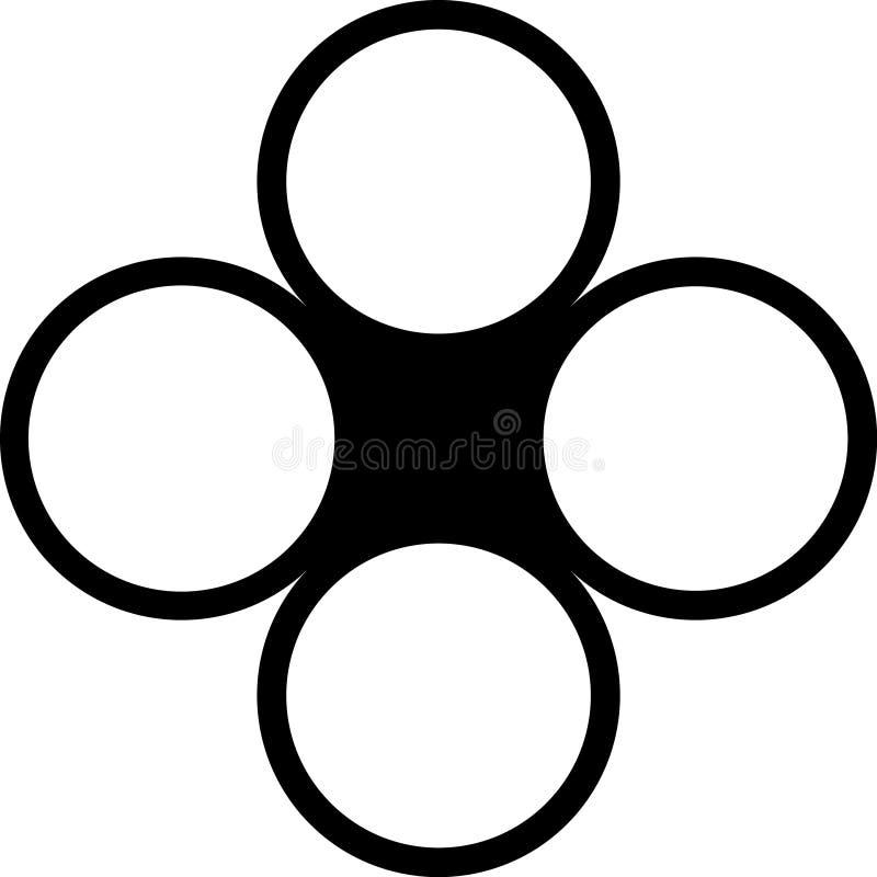 svarta knappar arkivbilder