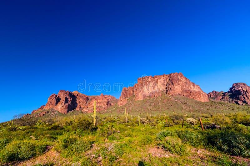 Svarta Mesa Trail arkivfoton