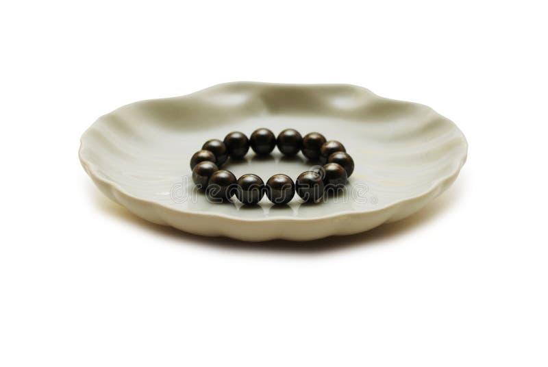 svarta pärlor arkivbild