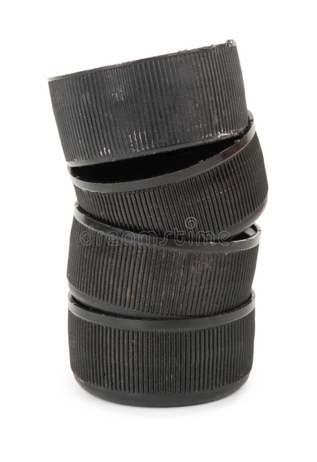Svarta plast- proppar fotografering för bildbyråer