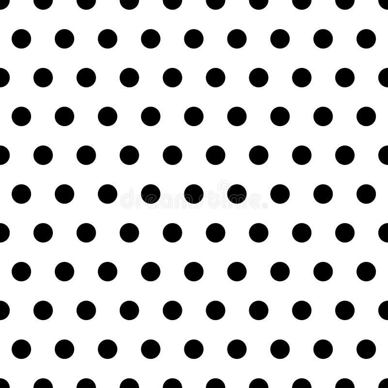 svarta prickar för bakgrund royaltyfri illustrationer