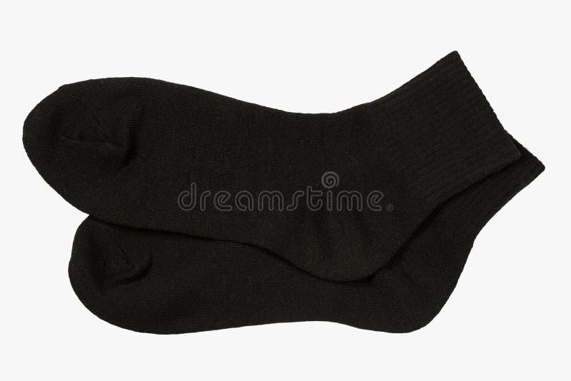 svarta sockor royaltyfri fotografi
