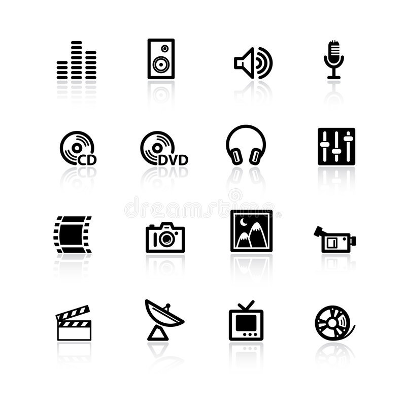 svarta symbolsmedel