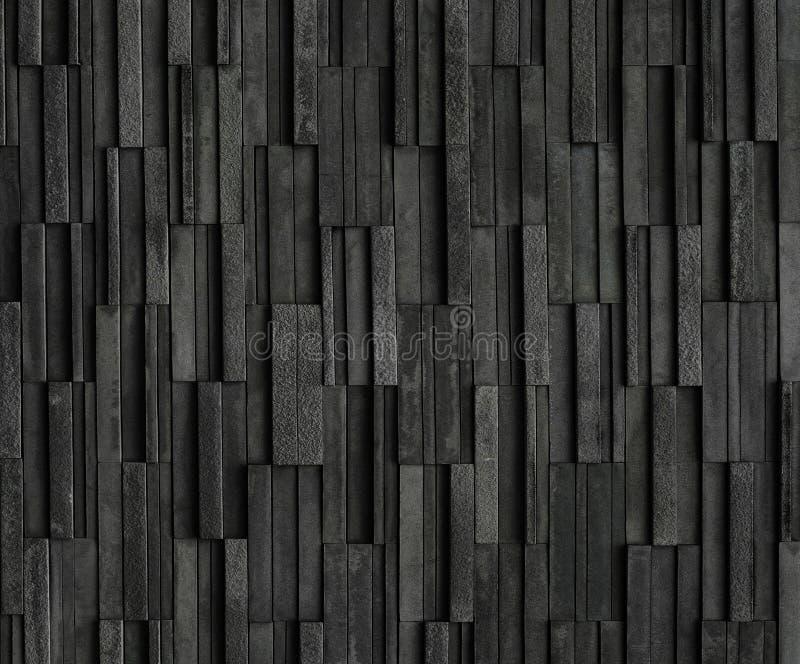 Svarta tegelstenar kritiserar texturbakgrunder royaltyfri foto