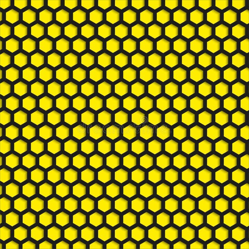 Svartdiagram på en gul bakgrund Abstrakt sammansättning också vektor för coreldrawillustration vektor illustrationer