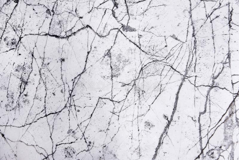 Svartvit abstrakt naturlig marmor, m?nstrad texturbakgrund f?r svart marmor arkivbild