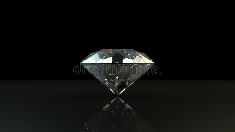 Svartvit bakgrund av glittery diamanter stock illustrationer