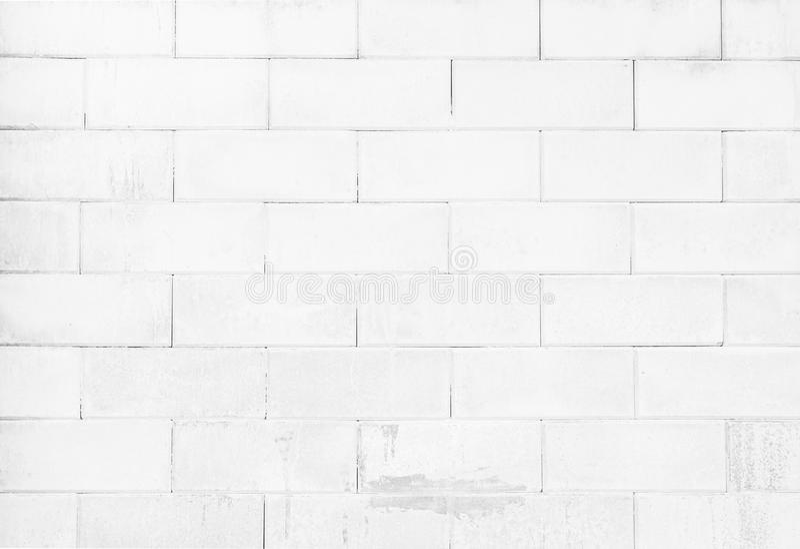 Svartvit bakgrund för textur för tegelstenvägg arkivfoto