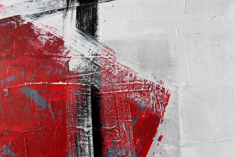 svartvit konst målad bakgrundshand Fragment av konstverk arkivfoton