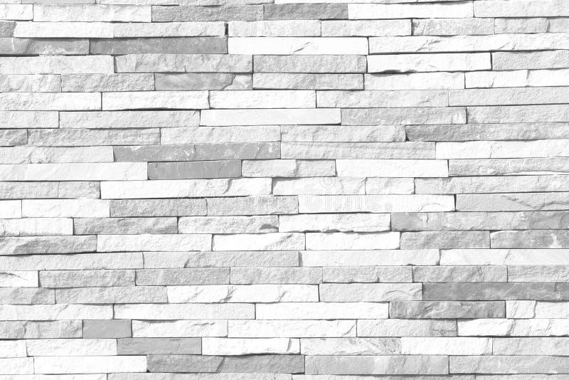 Svartvit modell för tegelstenvägg av moderna stildesignanständigheter royaltyfri foto