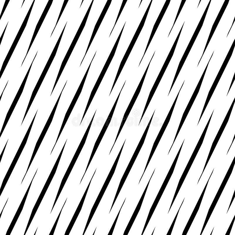 Svartvit sömlös geometrisk modell Repeatable textur stock illustrationer