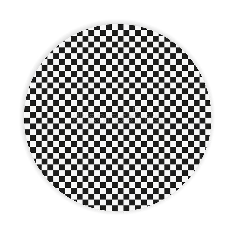 Svartvit sömlös geometrisk modell Repeatable textur/bakgrund vektor illustrationer