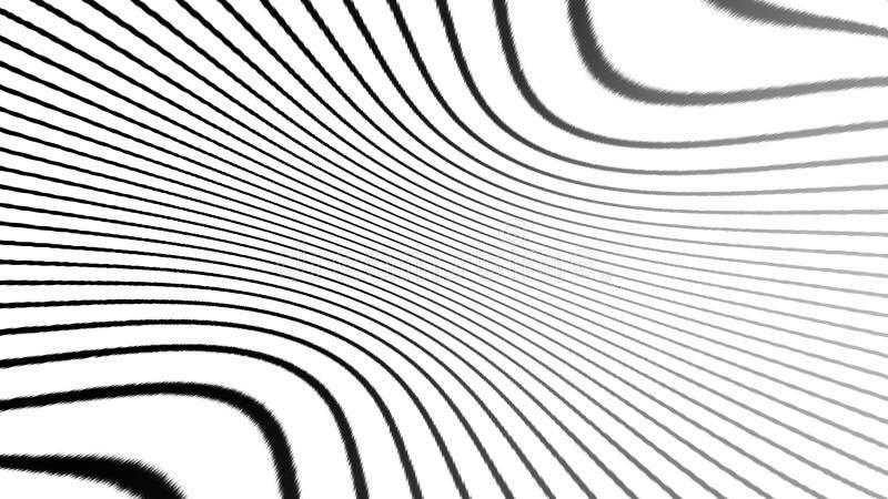 Svartvit texturbest?ndsdel Psykedelisk konst f?r hypnoshalvton Grafisk moderiktig syntwavebakgrund vektor f?r bild f?r designelem stock illustrationer