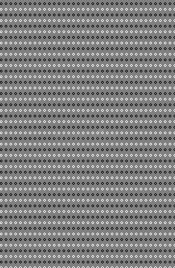 Svartvita PIXEL texturerar sömlöst royaltyfri illustrationer