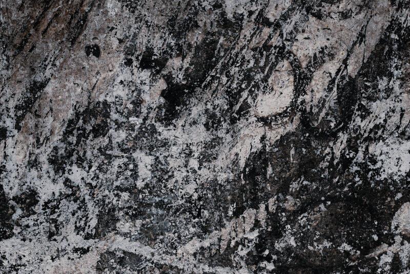 Svartvitt marmorera tjock skiva Vagga textur abstrakt mall M?rker - gr? grungebakgrund Svart stenyttersida Marmorera härligt p arkivfoto