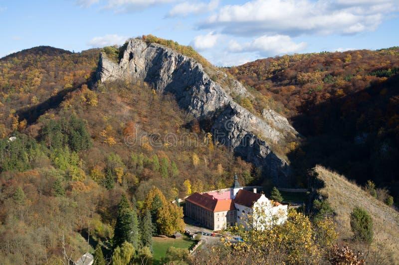 Svaty Jan pod Skalou, Central Bohemia, Czech republic stock photography