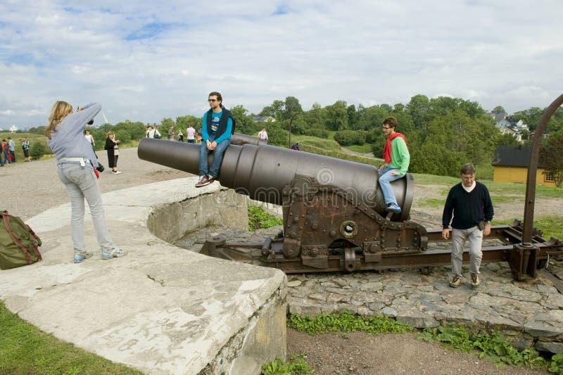 Sveaborg Gewehr lizenzfreie stockfotos