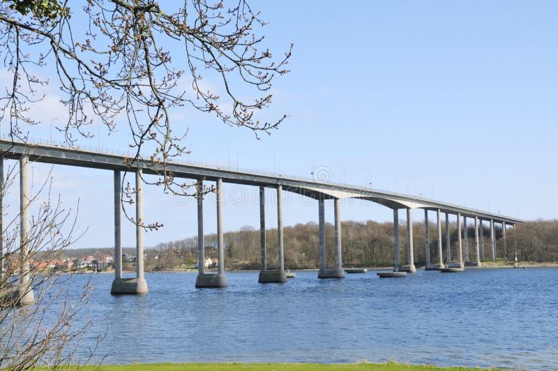 svendborg пролива моста стоковые фото