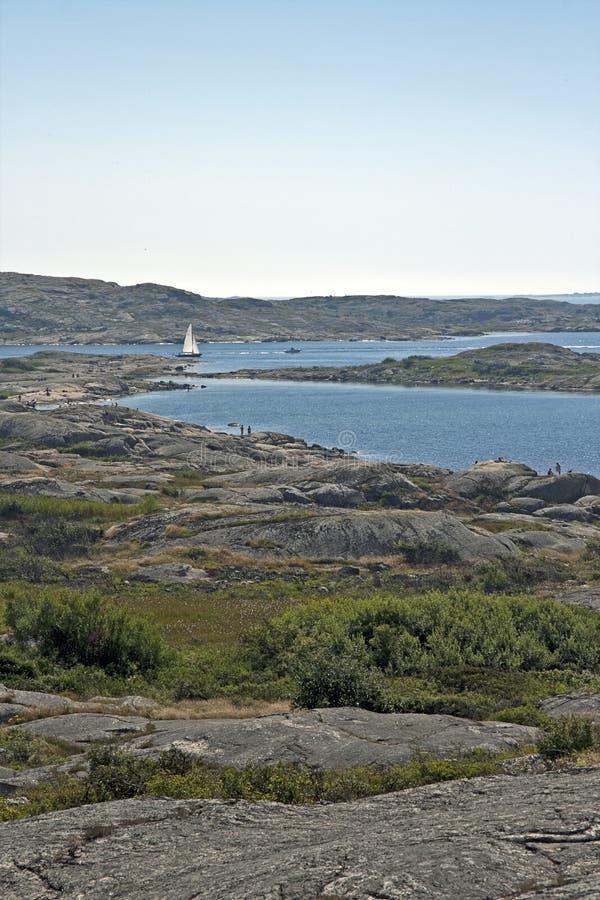 Svensk skärgård arkivfoto