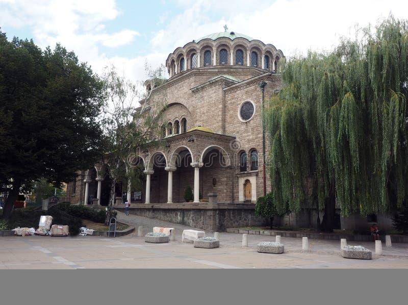 Sveta Nedelya Church Sofia Bulgaria Europe royalty free stock photography