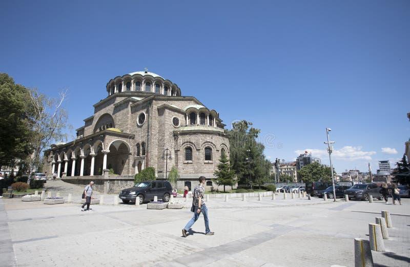 Sveta Nedelya Orthodox Church in Sofia Sveta Nedelya is a medieval church stock photography