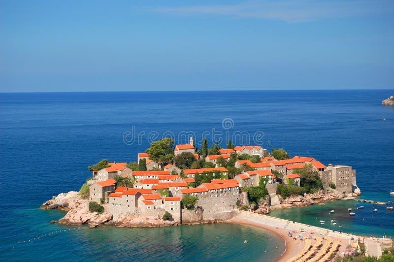 sveti του Μαυροβουνίου Stefan στοκ εικόνες με δικαίωμα ελεύθερης χρήσης