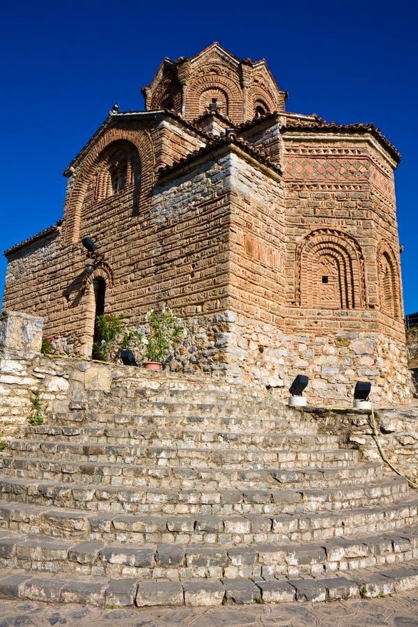 Sveti Jovan Kaneo Church royalty free stock image