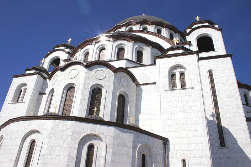 Sveti Sava 2 stock photo