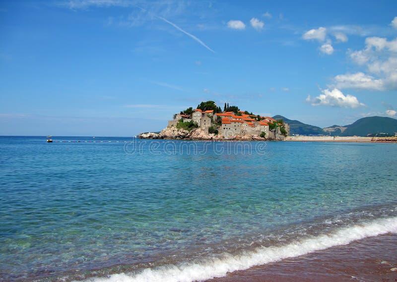 Download Sveti Stefan Island, Montenegro Stock Photo - Image: 15307178