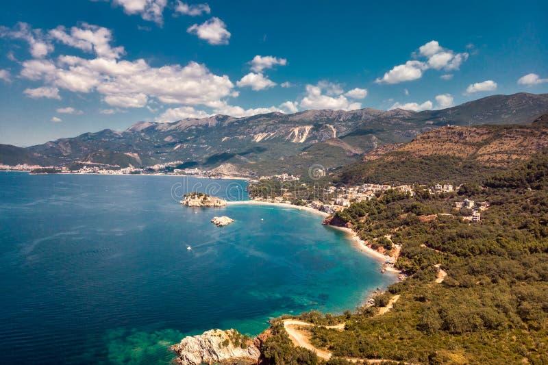 Sveti Stefan Montenegro fotografia stock libera da diritti