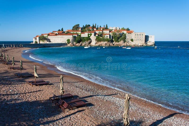 Sveti Stefan, Montenegro royalty-vrije stock foto