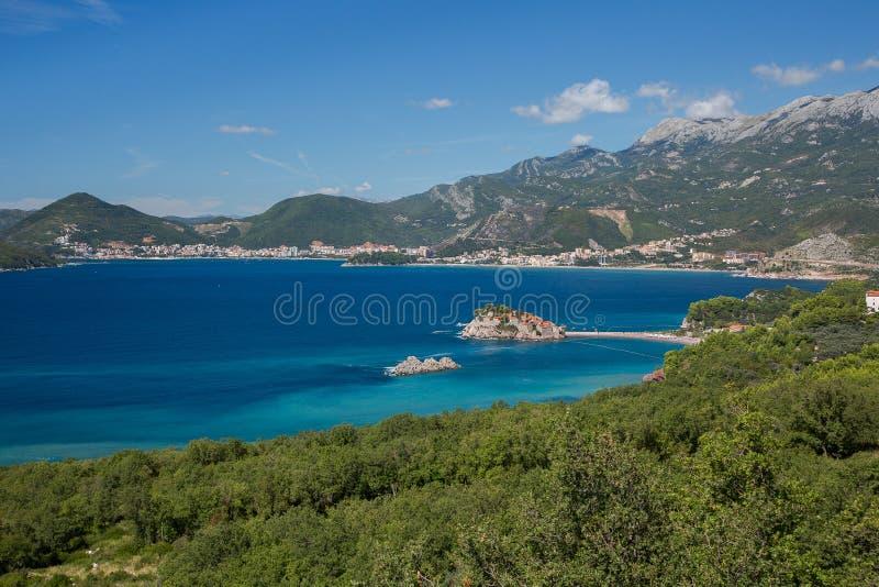 Sveti Stefan, Montenegro imagem de stock
