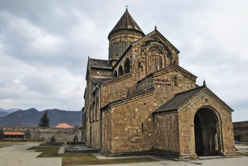 Svetitskhoveli Kathedrale stockbilder