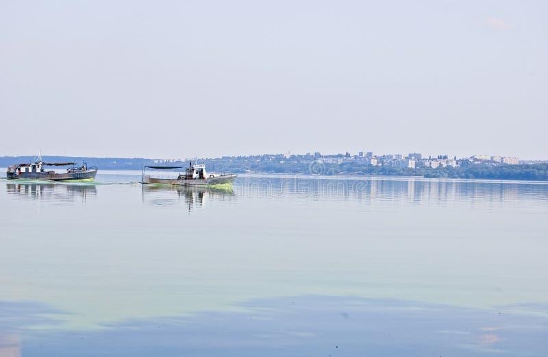 Svetlovodsk é uma cidade pequena na margem direita do rio de Dnieper no centro de Ucrânia imagem de stock royalty free