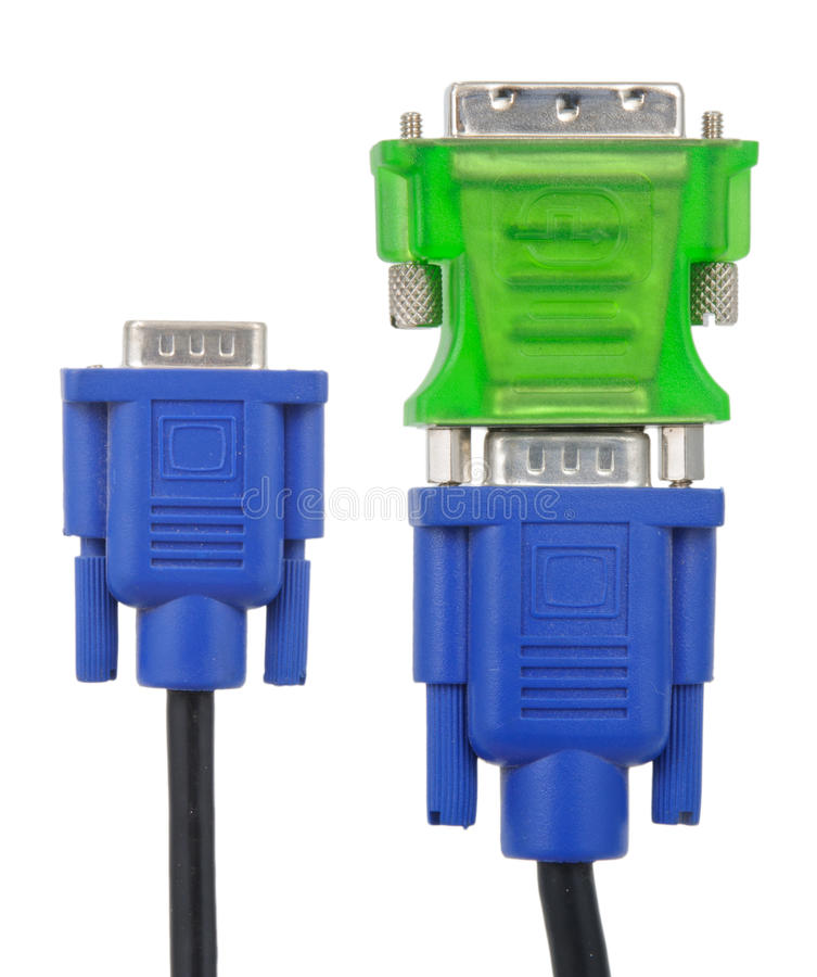 Download SVGA To DVI Adapter Stock Photo - Image: 23466120
