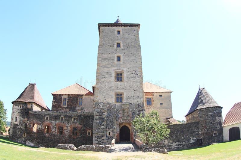 Svihov castle royalty free stock photography
