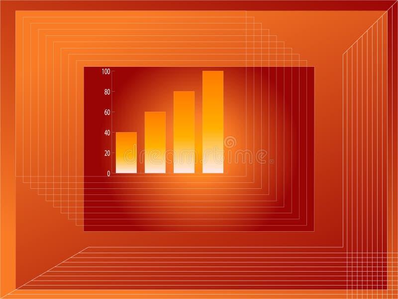 Sviluppo del grafico illustrazione vettoriale